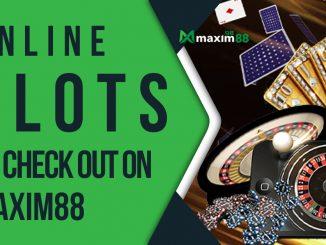 Online Slot Maxim88