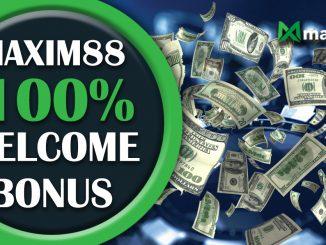 Maxim88 Welcome Bonus