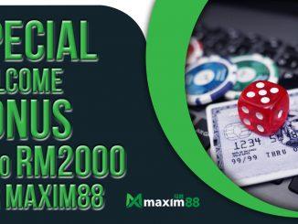 Special Welcome Bonus Maxim88